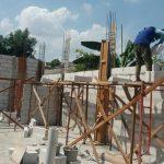 Pembangunan Tembok Asrama Yatim