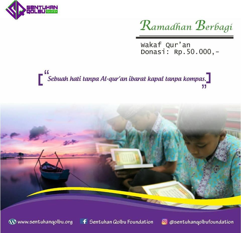 Berbagi Al-Qur'an Di Bulan Ramadhan
